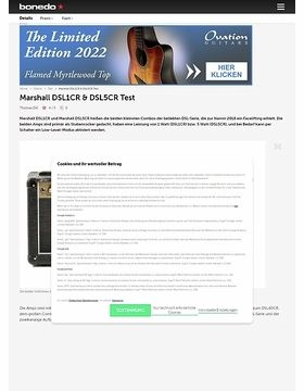 Marshall DSL1CR & DSL5CR