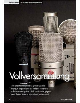 Vollversammlung: Großmembranmikrofone