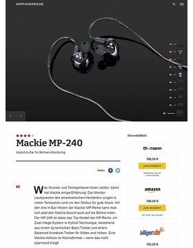 Mackie MP-240