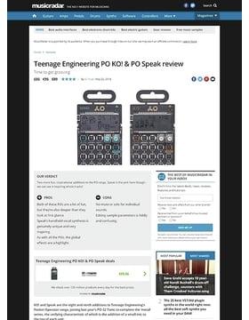 Teenage Engineering PO KO! & PO Speak