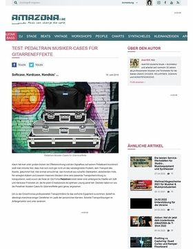 Pedaltrain Soft- und Hardcases für Musiker