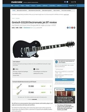 Gretsch G5220 Electromatic Jet BT