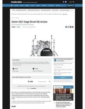 Sonor AQ1 Stage Drum Kit