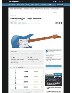 Ibanez Prestige AZ2204-ICM