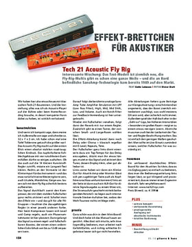 Tech 21 Acoustic Fly Rig