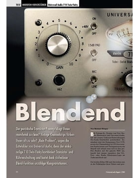 Blendend Universal Audio 710 Twin-Finity
