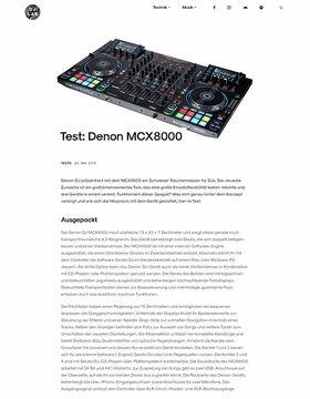 Denon MCX8000