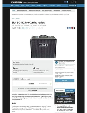 Eich BC-112 Pro Combo