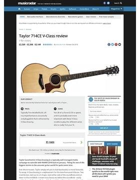 Taylor 714CE V-Class
