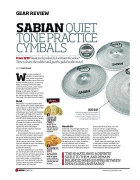 Sabian Quiet Tone Practice Cymbals