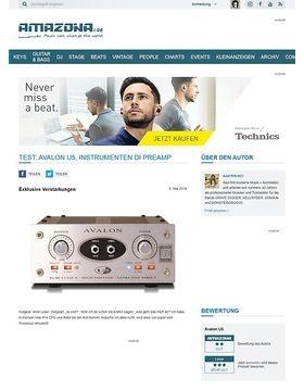 Test: Avalon U5 High Voltage Direct Box