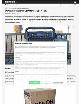 Denon Professional Commander Sport