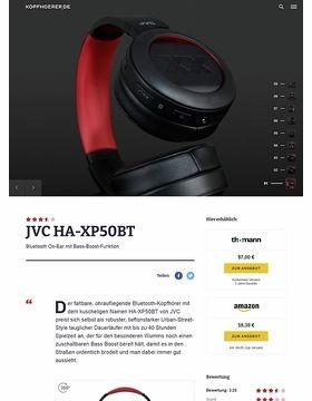 JVC HA-XP50BT-R XX