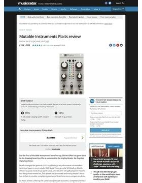 Mutable Instruments Plaits