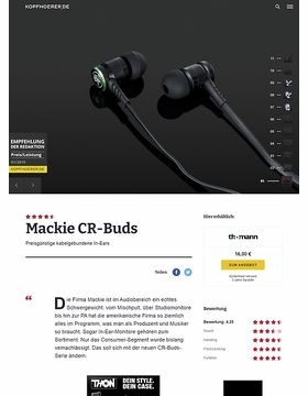 Mackie CR-BUDS