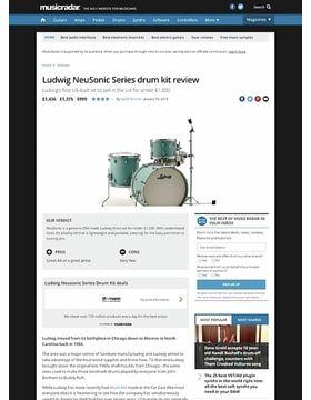 Ludwig NeuSonic Series drum kit