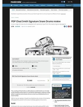 PDP Chad Smith Signature Snare Drums