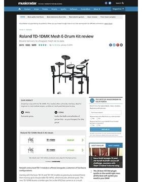 Roland TD-1DMK Mesh E-Drum Kit