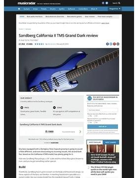 Sandberg California II TM5 Grand Dark