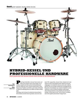 Pearl Session Studio Select Drums