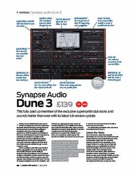 Synapse Audio Dune 3