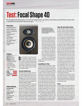 Focal Shape 40