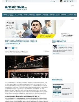 IK Multimedia AXE I/O