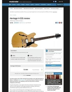 Heritage H-535