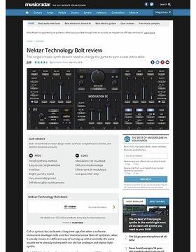 Nektar Technology Bolt