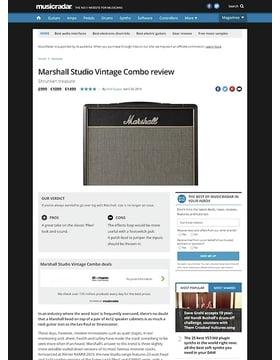 Marshall Studio Vintage Combo