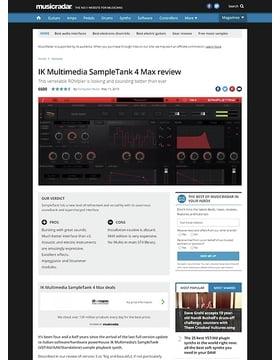 IK Multimedia SampleTank 4 Max