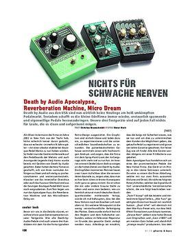 Death by Audio Apocalypse, Reverberation Machine, Micro Dream