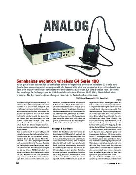 Sennheiser evolution wireless G4 Serie 100