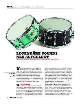 Yamaha Recording Custom Wood Snaredrums