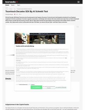 Toontrack Decades SDX By Al Schmitt