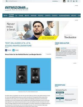 Kali Audio LP-6 und LP-8