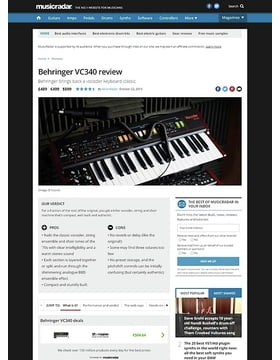 Behringer VC340
