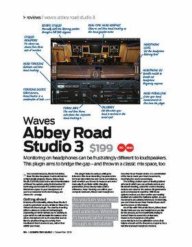 Waves Abbey Road Studio 3