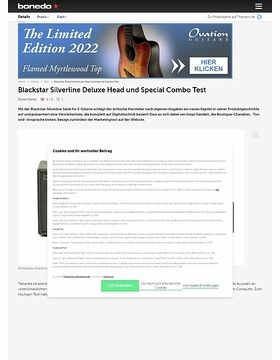 Blackstar Silverline Deluxe Head und Special Combo