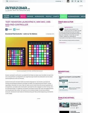 Novation Launchpad X und Mini Mk3