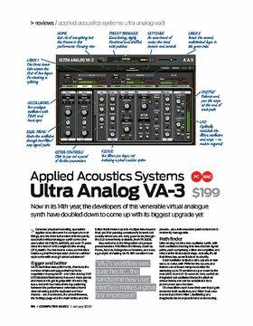 Applied Acoustics Systems Ultra Analog VA-3