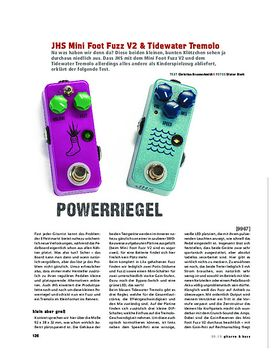 JHS Mini Foot Fuzz V2 & Tidewater Tremolo