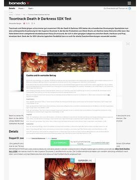 Toontrack Death & Darkness SDX