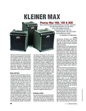 Peavey Max 100, 150 & 208
