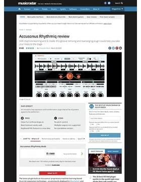 Accusonus Rhythmiq