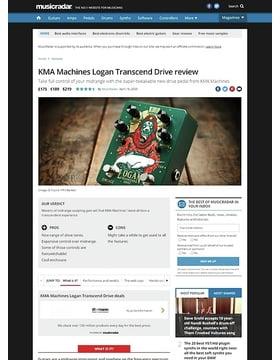 KMA Audio Machines Logan Overdrive
