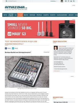 Behringer Xenyx X1204 USB Kompaktmischpult
