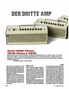 Yamaha THR30IIW, THR10IIW & THR10II