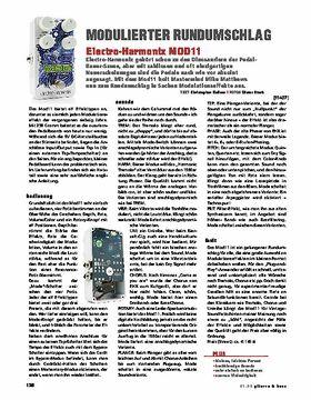 Electro Harmonix Mod 11 Modulator
