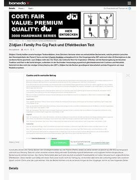 Zildjian i Family Pro Gig Pack und Effektbecken